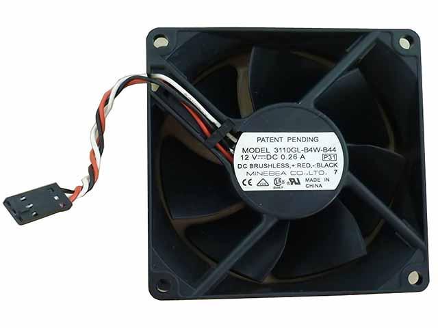 Nmb 3110Gl-B4W-B44 Fan Assy 12Vdc .26A 2-Wire