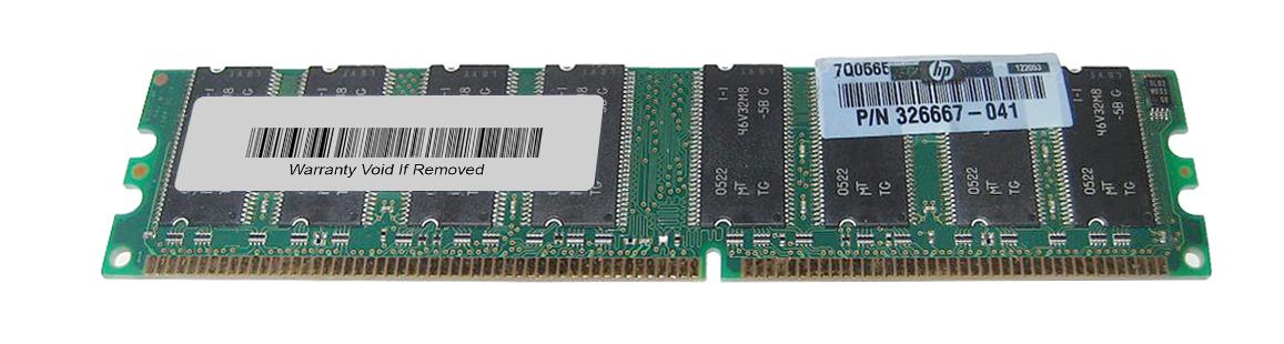 Memory 256Mb Dimm Ddr Pc3200U Non-Ecc 184-Pin