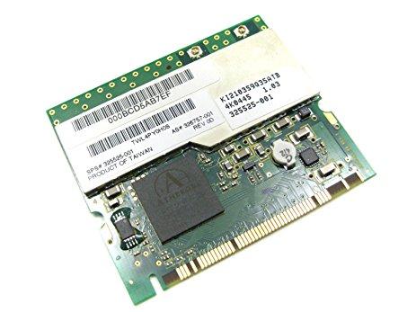 HP w500 802.11a-b-g MiniPCI Wireless LAN NEW 326757-001