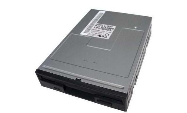 Black bezel 1.44MB Floppy SFD-321B