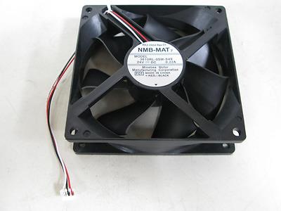 Nmb-Mat 3610Rl-05W-S49 Fan Assy 24Vdc .22A 3-Wire