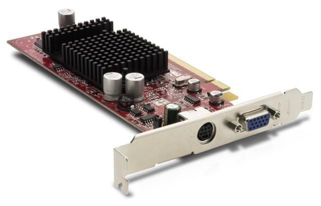 radeon x300 pci-express x16 64mb vga/s-video graphics ca