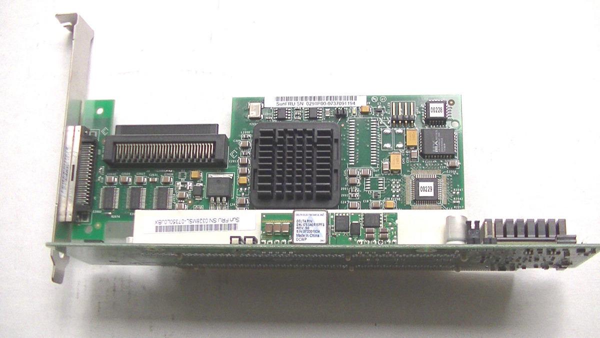 Sun SGXPCI1SCSILM320-Z Sun 375-3366-01 PCI-X Ultra320 SCSI RAID