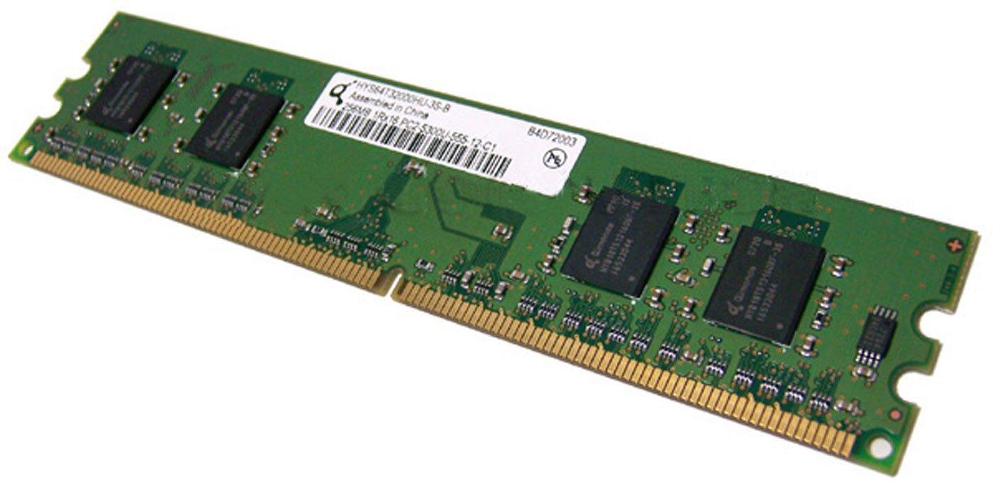 Ddr2 Dimm 512Mb(2X256Mb) Kit 667Mhz Pc2-5300U Non-Ecc 1Rx16 3777