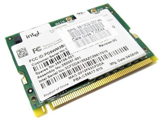 378973-001 HP Compaq Mini-Pci Wireless Lan Wi-Fi 802.11B/G