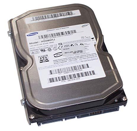80GB 3.5'' 7200RPM SATA HARD DRIVE