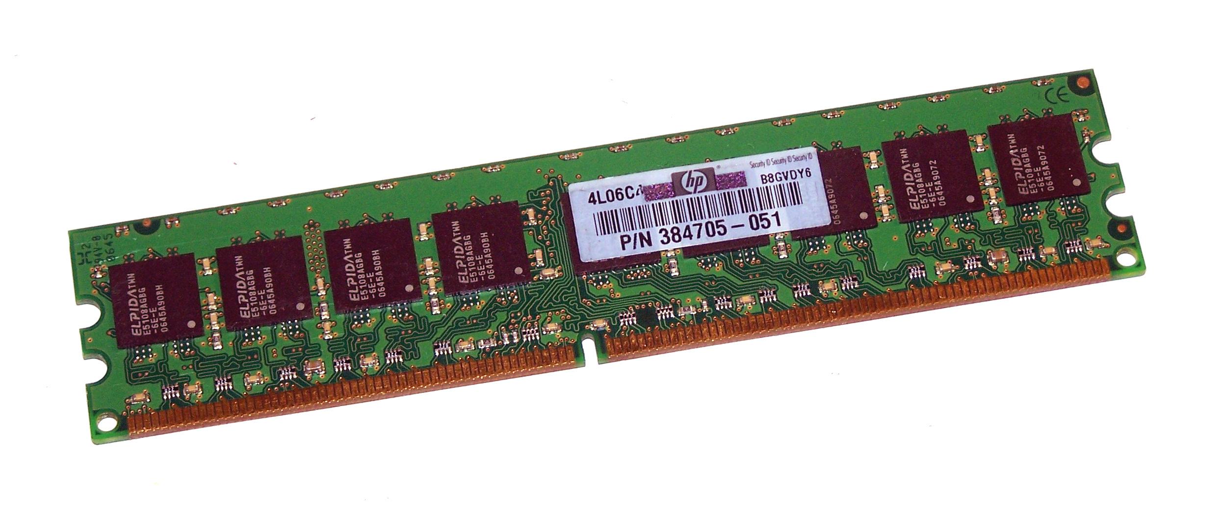 1Gb Pc2-5300E Ddr-667 2Rx8 Ecc