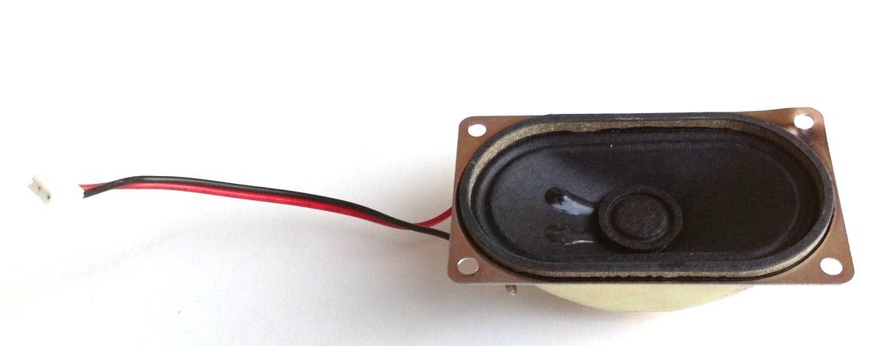 HP 385980-003 Internal Speaker - 40 Ohm 1.5 Watt, Oval Shape, 1.6