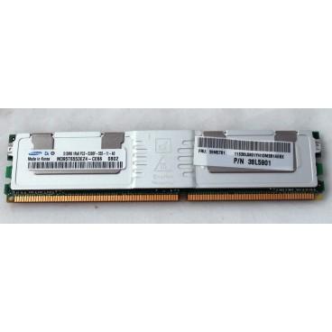 IBM 2x512MB (1GB) PC2-5300F ECC Memory Module 38L5901