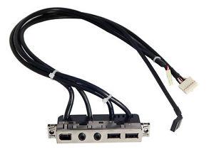 Genuine HP XW4400, Z400 USB Audio Panel and bracket Workstation 3
