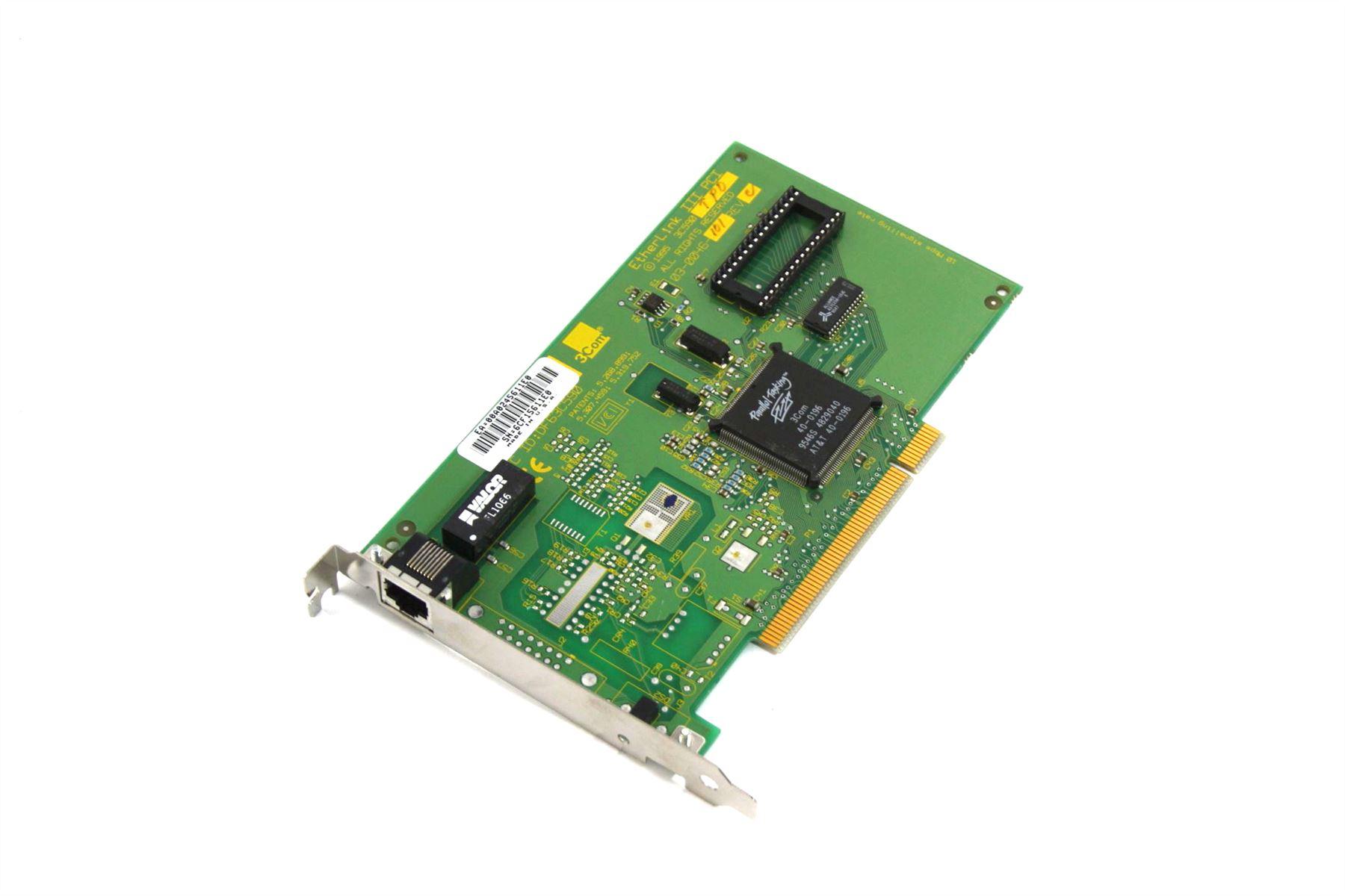3COM Etherlink III IEthernet Card PCI bus Network Card