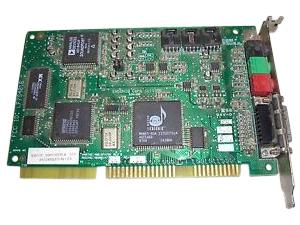 Ensoniq 4001034701 Rev B ISA Sound Card LF7S4016