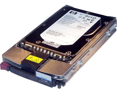 Hdd, 72.8Gb,Ultra320, Scsi, 10K , HP