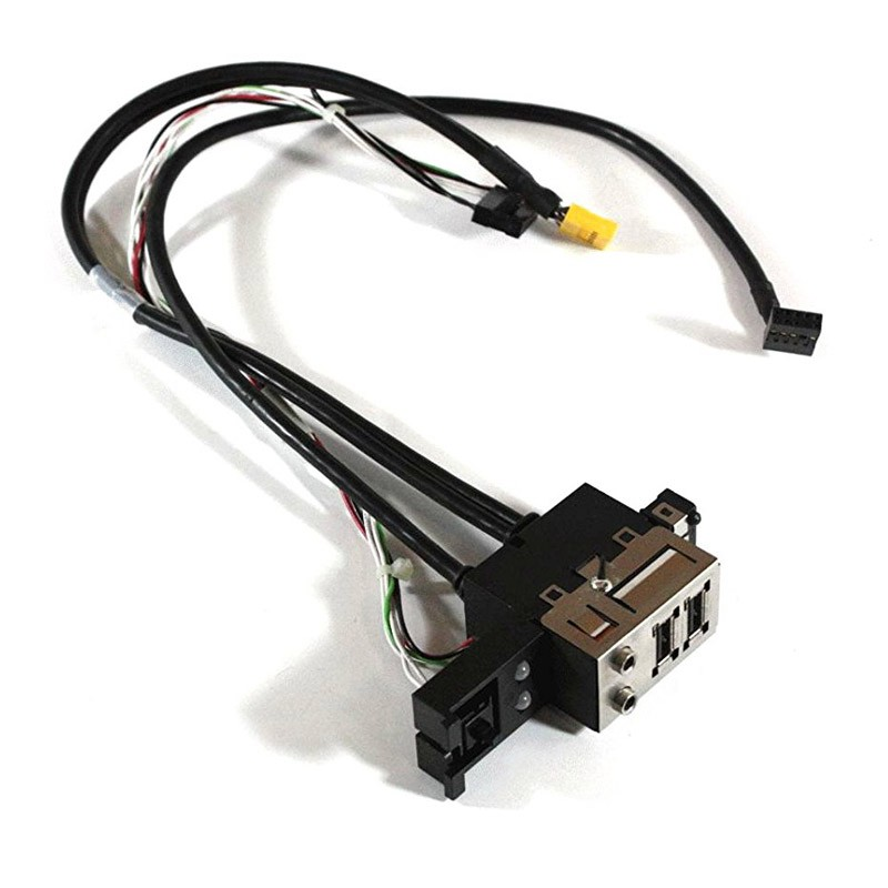 410119-001 HP Compaq Business Desktop dc5750 Front I/O Panel & Power Switch Assy. Audio; LED; USB