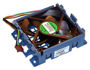 System fan assembly - 92mm (3.62 inches) x 92mm (3.62 inches) wi