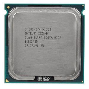 Intel Xeon 5160 Dual Core processor 3.0GHz 1333MHz fsb 4MB (4167