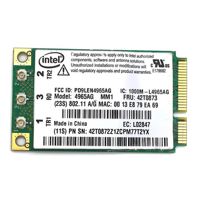 Lenovo ThinkPad X60 Wireless Card