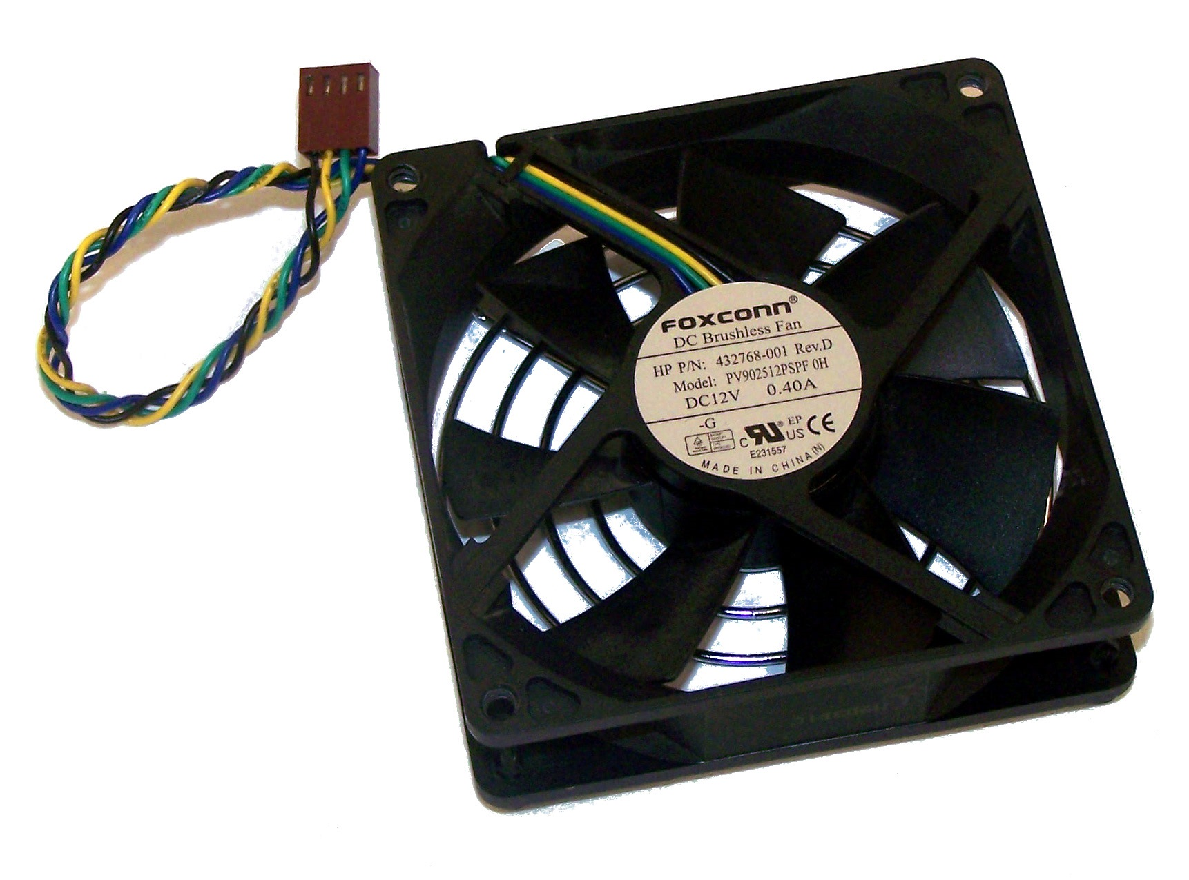 432768-001 HP Workstation xw4400/9400 DC 12V 0.40A Fan