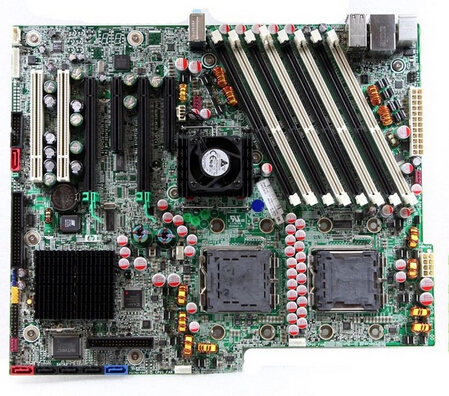 HP XW6600 Workstation Motherboard System Board 440307-001 439240-