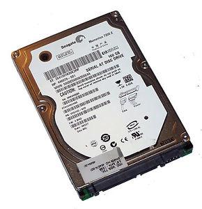 160GB SATA 1.5GB/S 2.5 - 7,200RPM