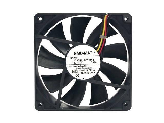 Nmb 4710Nl-04W-B19 Fan 12Vdc .16A 3-Wire