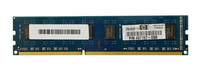 2GB PC3-10600U DDR3-1333 1RX8 N-ECC