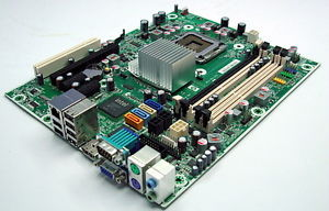 HP Compaq 6000 Series Intel Motherboard 503362 001 w cpu e7600 2
