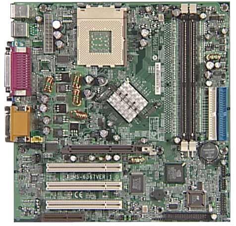 HP Mother Board MAMBO Socket 462 AMD