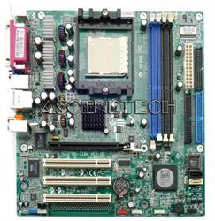 HP System Board (MotherBoard) Amethyst M-gl6e (4 Memory Banks) for Pavilion A1057kr Pavilion A1107kr