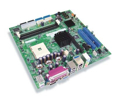 KBMC5IGLF motherboard SYSTEM BD K8MC51G-LF