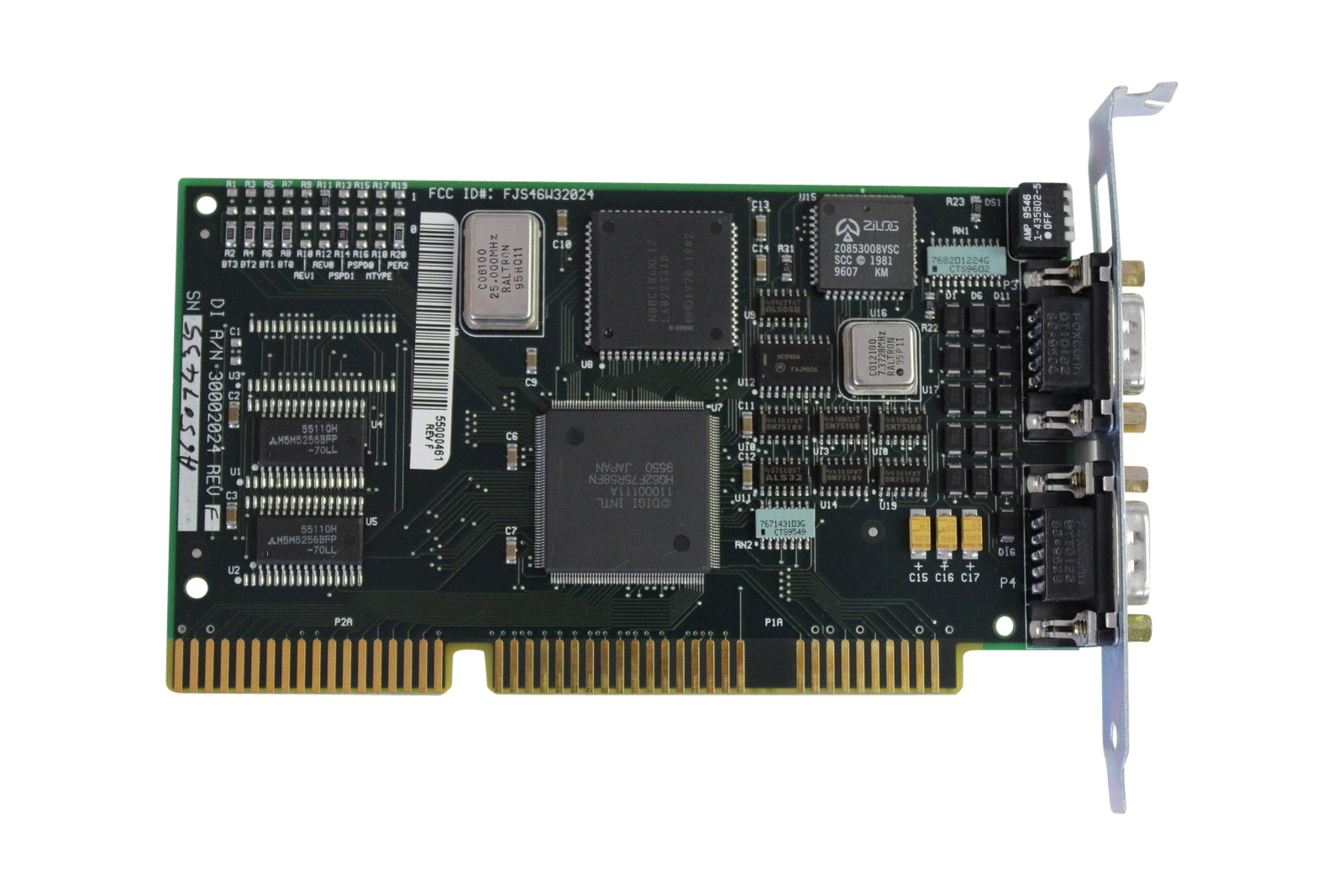 Digi Intl 55000461 Pc/2E Isa Adapter