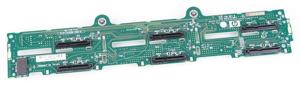 HP 577427-001 / 457174-001 / 457174-003 DL380 G7 LFF 6-BAY SAS BACKPLANE BOARD
