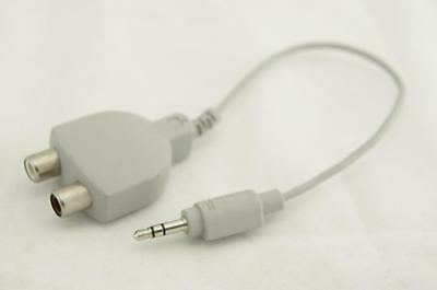 Apple Stereo Audio Cable 3.5mm to RCA 590-0618-A