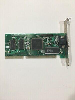Vga 16Bit Isa Cirrus Logic Cl-Gd5401-42Qc-B 512K Video Card