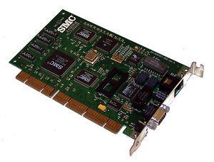 Smc 60-600507-002 Smc 10/100 Eisa Network Card Rj-45 & 9-Pin