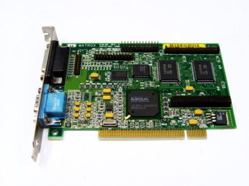Matrox 618-02 Rev A Pci Graphics Card, Mga-Myst/2/Gat, Fcc Id: I