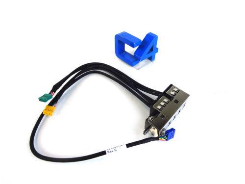 HP 625248-001 8300 FRONT IO AUDIO USB PANEL CM - 646821-001