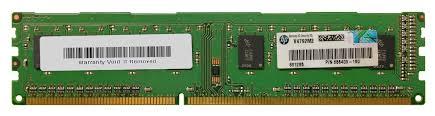 Samsung HP 655409-150 4GB PC3-12800U Desktop RAM - 2 x 2gb modules