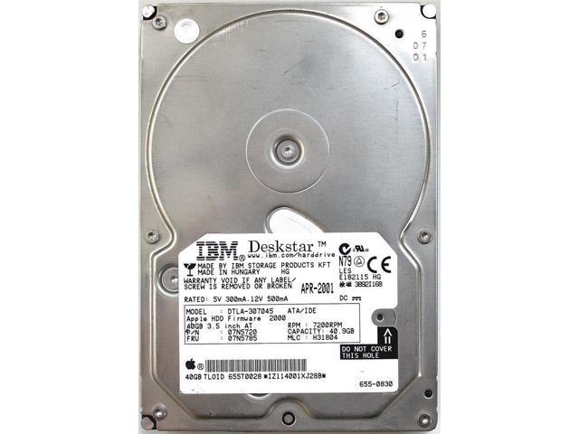 40gb 3.5 7200RPM IDE