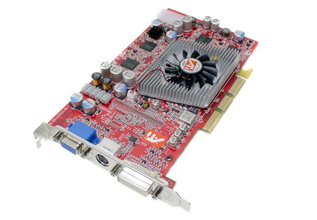 Radeon 9800PRO 128MB 256-bit DDR AGP 4X/8X