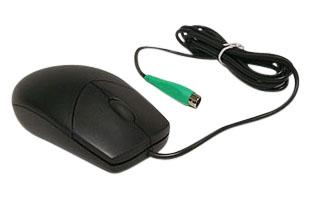 Gateway Logitech 7004628 PS2 Mouse 2 button & center scroll