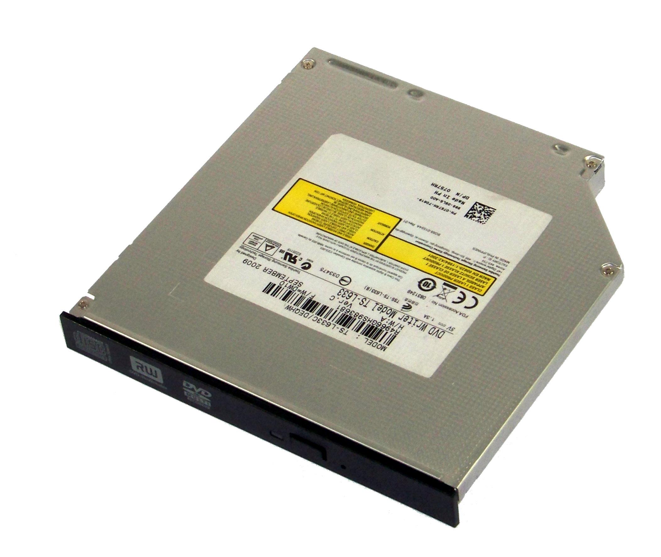 757RH Dell 8x SATA Int. DVD+/-RW Drive Slimline Black