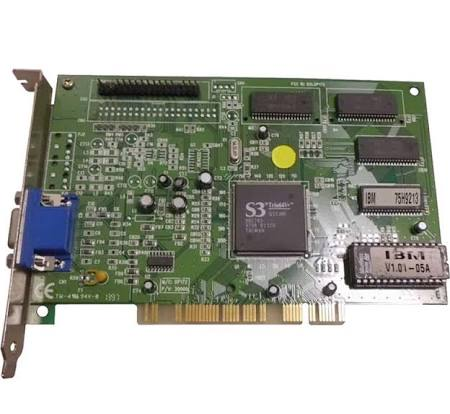 IBM V1.01-05a DXLDP172 PCI Video Card 75H9213