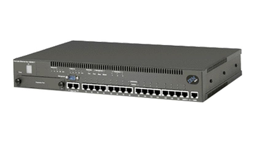 IBM 8237 8237-001 Stackable Ethernet Hub 10Base-T