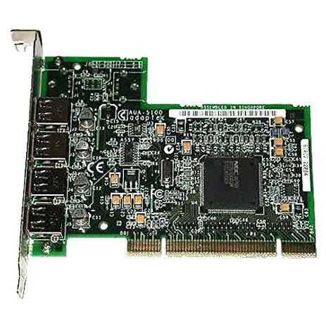 Dell 08R835 Pci Quad Port Usb AUA-4000