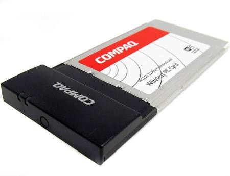 Compaq 90Lp0153 Compaq Wl110 2.4Ghz Wireless Card
