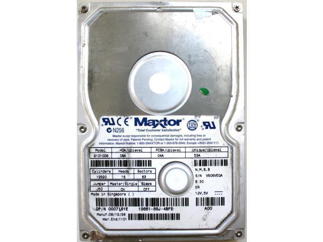 MAXTOR 91010D6 Maxtor 91010D6 10.1GB 5400RPM IDE Hard Drive