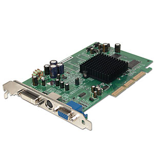 Radeon 9200SE 128MB 64-bit DDR AGP 4X/8X Vi