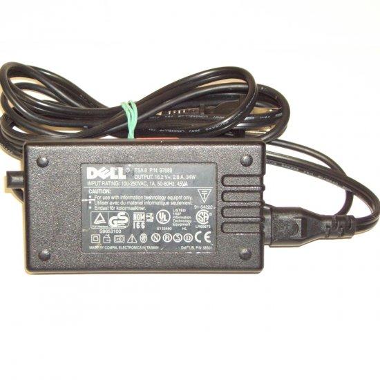 Dell 00097689 Ac Adapter 16.2V 2.6A 34W Square 3-Pin