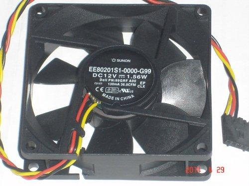 Dell 99GRF 099GRF Case Fan Sunon EE80201S1-0000-G99 DC12V 1.56W